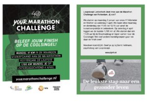 Your Marathon Cahellenge Looprecept Lekkerkerk 2020